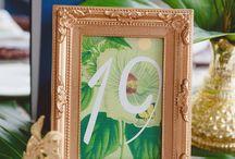 botanical theme wedding inspiration