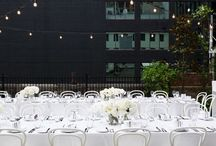 LTL EVENT | LUCINDA & JACKSON'S WEDDING / This gorgeous couple said I do on the beautiful Tonic House Rooftop; an elegant and stunning wedding dressed with white and a splash of red. | Photography: The White Tree | Cakes: Bake & Co | Florist: Serene Kovacs