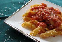 PENNE alla VODKA & SPINACH with Garlic & Oil  gluten free / Kitchen Wisdom Gluten Free  http://kitchenwisdomglutenfree.com/