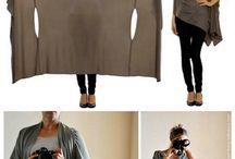 Yersey wikkeljurk/shawl
