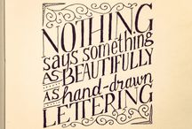 Typography/Lettering