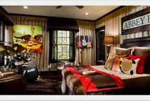 Young mans room