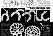 Örgü süs motifleri