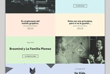Web Design / Web design inspirations, web blister!