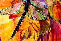 Festmények színekből