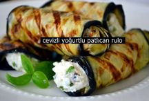 Cevizli yoğurtlu patlıcan