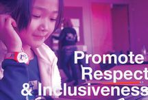 Respect & Inclusiveness / Various anti-bias resources to help teach it in your classroom. / by ADL - Anti-Defamation League