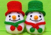 Crochet Christmas / Adornos para Navidad en ganchillo