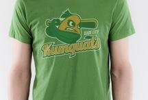 Dade City Kumquats Funny T-shirt / In Dade City each January, they host a Kumquat festival. Kumquats make awesome sports logos!