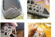 zapatos al crochet