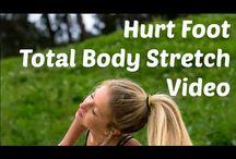 Fitness/Yoga/Pilates with lower leg injury