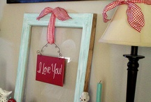 Salvaged Holidays: Valentine's / Sweeten things up with some vintage DIY projects.