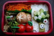 Bento Lunches / Bentos and ideas for foods to put in bento lunches for kids