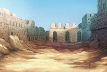 背景_砂漠