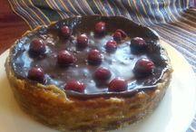 Queso, cerezas y chocolate