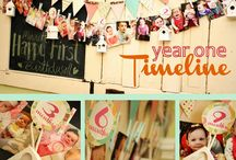 1st.birthday.party / Our sweet girl is turning ONE! Ideas for her shabby chic first birthday party :) / by Melinda Collins