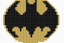 Free superhero cross stitch patterns