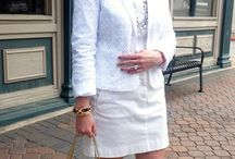 Whites / Fashionable whites....crisp, clean and smart...check out more at http://cortneybre.com!