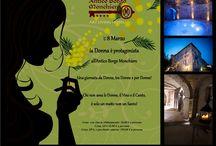 Festa della Donna / L'8 Marzo l'Antico Borgo Monchiero rende omaggio alle Donne.