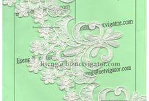 New Embroidered Cording Lace Trims / We are Lace Trims Factory http://diydressideas.weebly.com/  Hong Kong Li Seng Co Ltd E-mail:liseng@biznetvigator.com