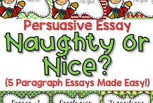 Christmas in the Classroom / Teaching ideas for the holidays, Christmas, and the month of December. Includes lesson ideas, crafts, party ideas, etc.
