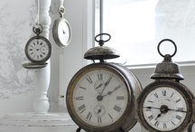 Clocks and Watches / Clocks and watches of all styles and design from old to new.  / by Katy Yocom-Yenawine