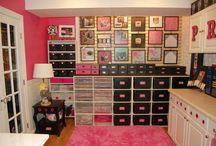 Craft room--- Dreaming! / by Leslie Hodge