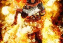 Firefight art