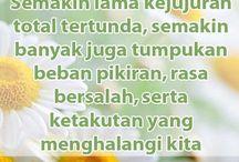 Kata Mutiara / Perihal kata motivasi, nasihat, renungan, panduan dan peringatan.  inspirasihuda.blogspot.com