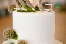 Cake: Topper wedding