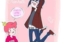 Marshall/Gumball & Bubblegum/Marceline