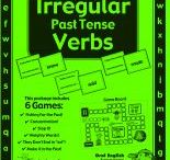 Irregular Past Tense Verb Game- Grammar and Vocabulary Unit Plan / by Buysellteach