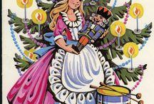New Year Vintage Postcards / Новогодние советские открытки