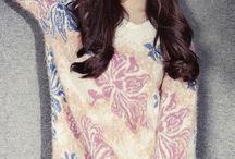 Celebrity Style : Tiffany Hwang / by Immelia Izalena