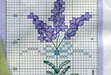 Levander - cross stitch