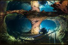 Slovak opal mine diving