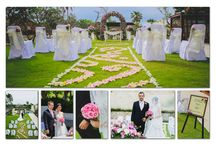 Wedding in Simplicity at The Bale / Photographer: Bali Magical Photography  Make Up Artist: Suzan  Gown & Suit: Kings Tailor  Decoration: Bunga Ayu  Models: Kristy & Robert  Album design: Lifestyle Retreats