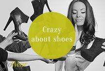 Crazy about shoes / #shoes #fashion #flowear
