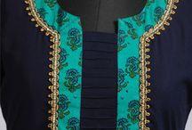 chudi neck pattern