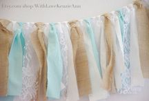 40th Birthday / Ideas for my dream party! Tiffany blue and country chic.