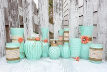 Mint & Peach / Featuring all things mint & peach / by Mint Peach Boutique