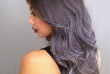 Pretty colored hairs ❤️