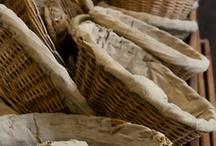 OrcaCool ✪ Manden - Broodmanden / Manden, broodmanden, hout, riet, basket, bread