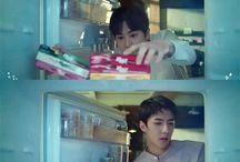 EXO-K Lotte pepero