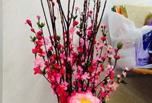 Chinese new years flowers arrangements