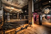 ANTHONY JOSHUA'S BXR GYM LONDON / Most beautifully lit gym in the world?, certainly one of the most photographed. Look out for Factorylux 99 spotlights, Factorylux Track-Pipe® and Factorylux Xicato Reflector Pendants.   Gratitude: Peter Fordham / DHA Designs