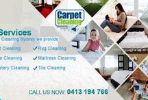 Our Carpet Cleaning Services / Our Carpet Cleaning Services