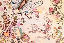 Doodle - Butterflies