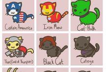 sweet  Black kitti