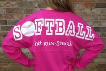 Softball Apparel / by Carrie Halpin-Singleton